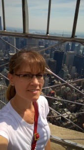 Hello NYC from the 86th Floor of the Empire State Building.
